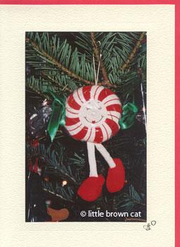 Peppermint Patty Notecard