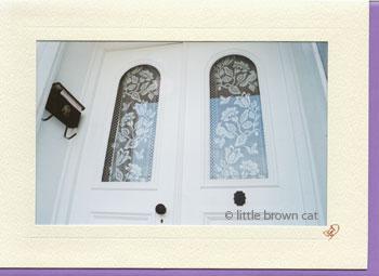 Ballardvale Lace Doors Notecard