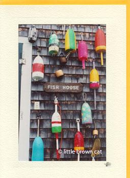 Hog Island Fish House Notecard