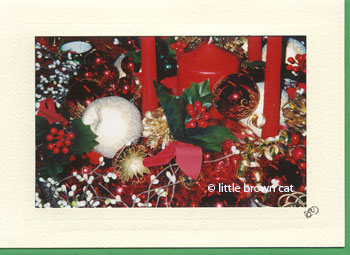 Holiday Centerpiece Notecard