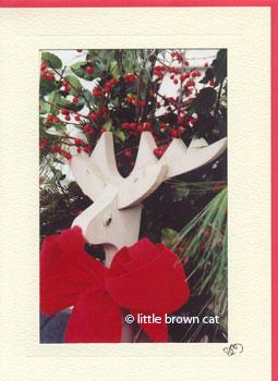 Reindeer Notecard