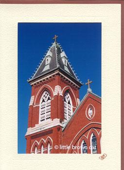 St. Augustine Steeple Notecard