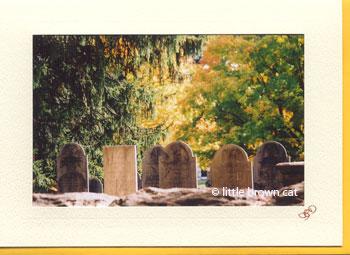 West Parish Cemetery Notecard