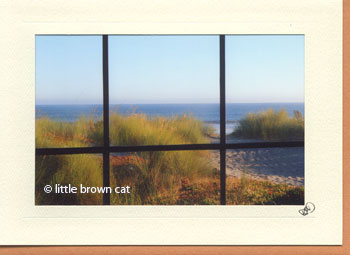 Pacific Afternoon Notecard